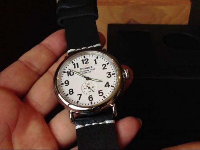 Bedrock Shinola | Shinola Watch | Detroit Watch Maker