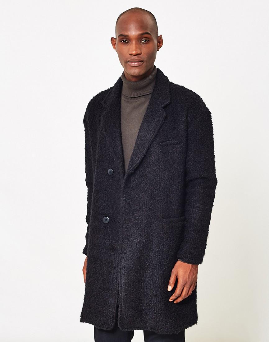 Beige Pea Coat Mens | Mens Quilted Overcoats | Mens Overcoats