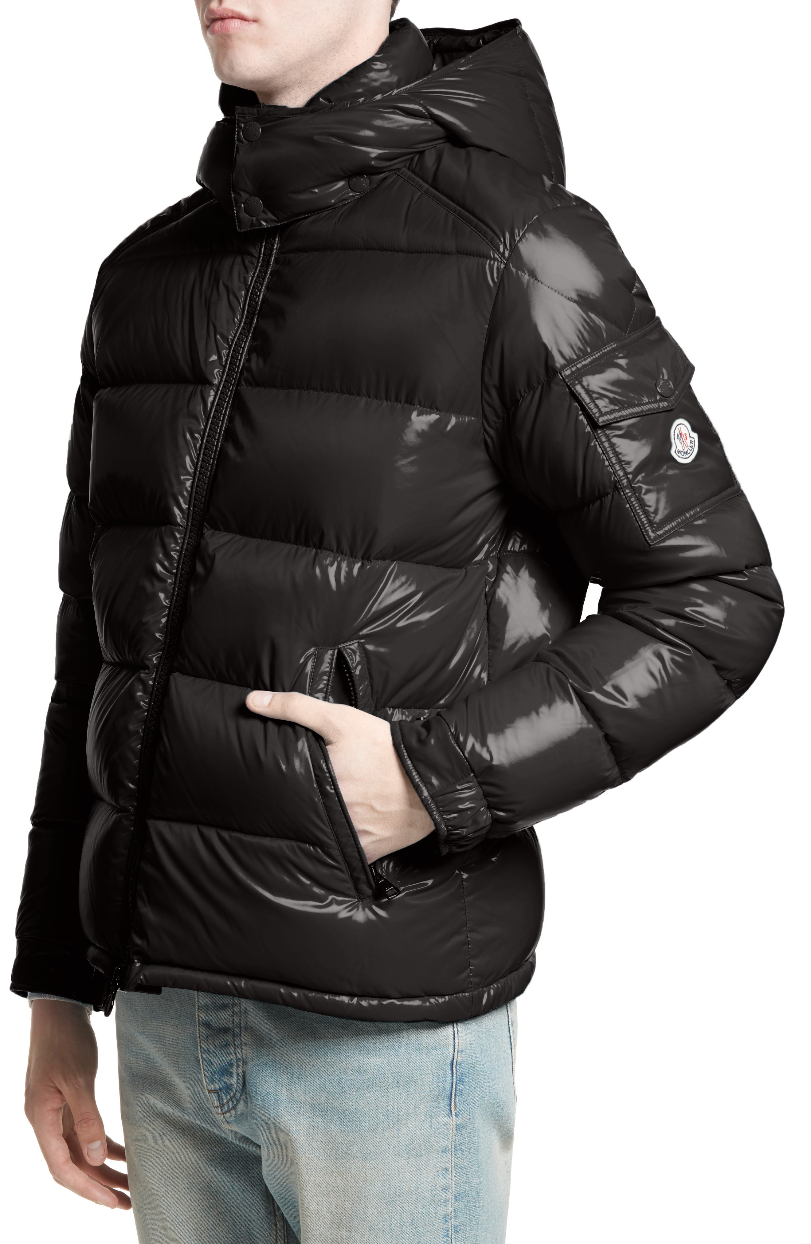 Best Balmain Leather Jacket Mens | Cute Moncler Maya
