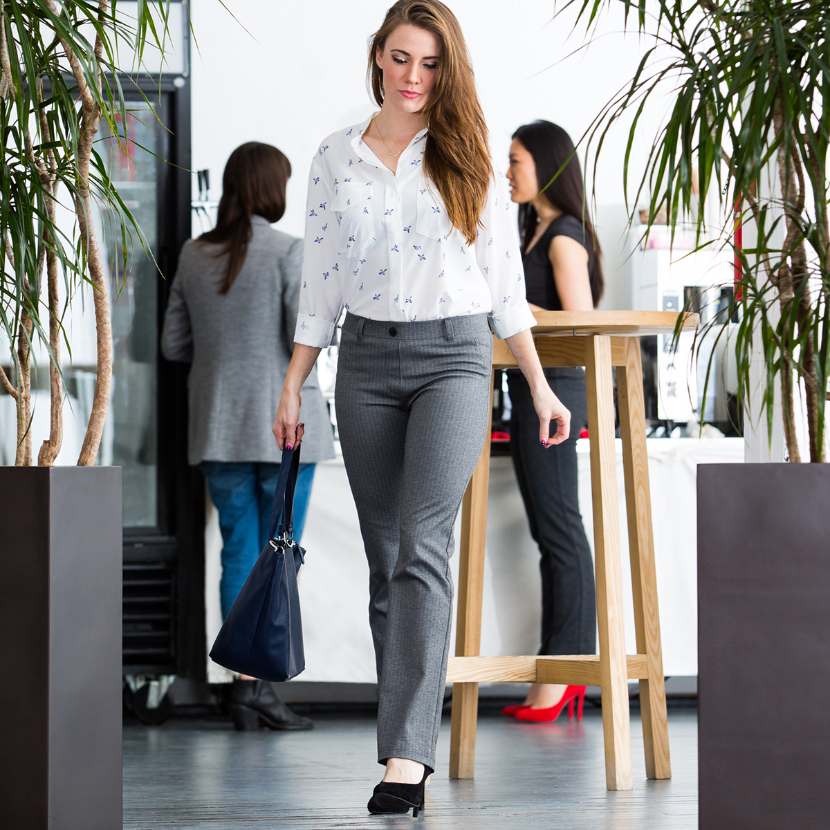 Betabrand Pants Review | Betabrand Yoga Dress Pants | Betabrand Logo