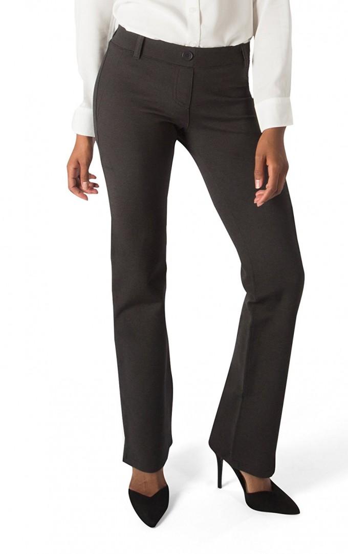 Betabrand Yoga Dress Pants | Womens Comfy Clothes | Skinny Girl Yoga Pants
