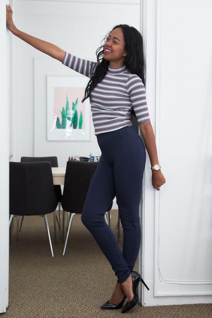 Betabrand Yoga Dress Pants | Womens Dressy Pants | Stretch Bootcut Pants