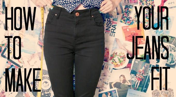 Big Butt Jeggings | Curvy Designer Jeans | How To Make Jeans Skinnier