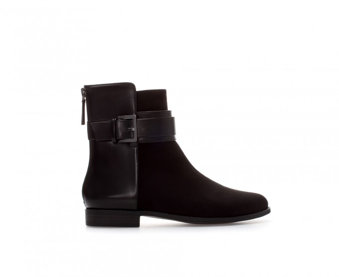 Black Ankle Boots With Buckles | Womens Bootie Boots | Target Womens Cowboy Boots