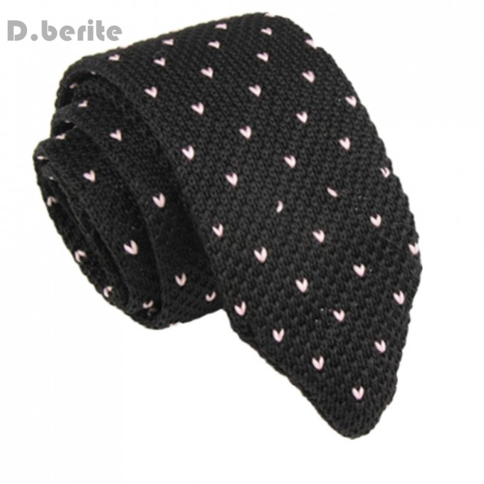 Black Knit Tie | Knit Ties | How To Wear Knit Ties