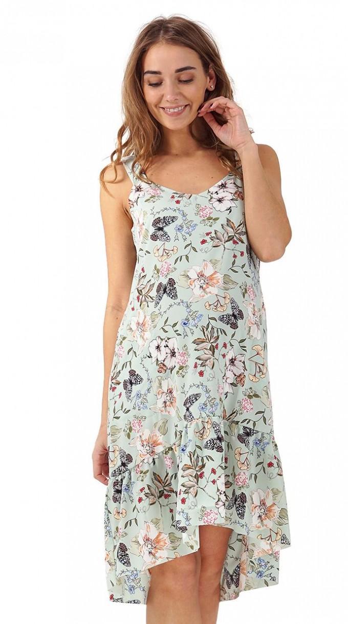 Black Maternity Maxi Dress | Maternity Sundress | Maternity Wrap Dress