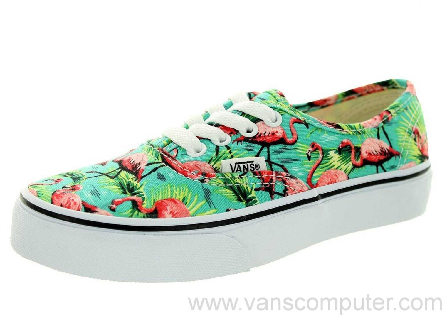 Black Men Vans | Flamingo Vans | Cool Vans Shoes for Guys