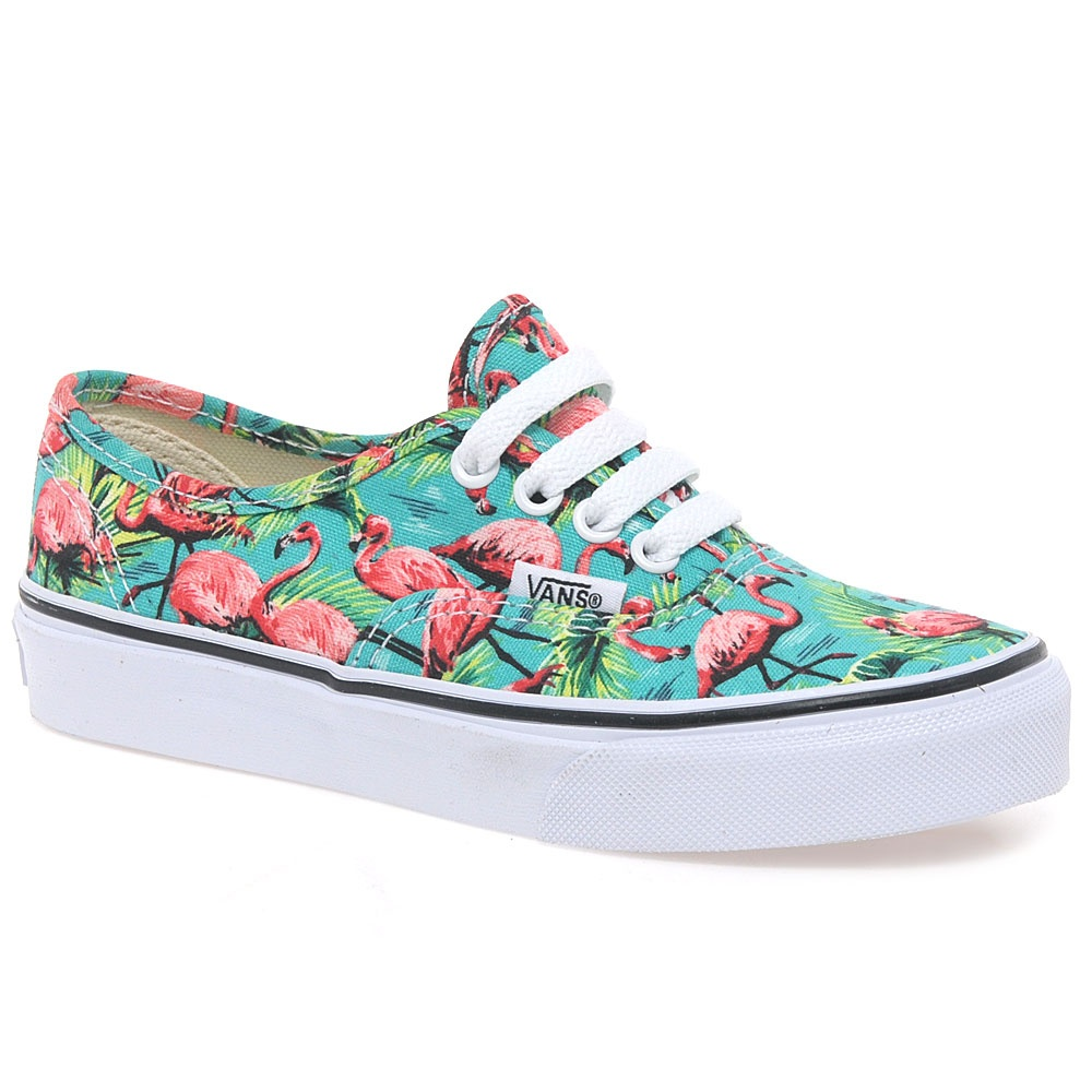 Blue Hawaiian Vans | Vans Shoes Guys | Flamingo Vans