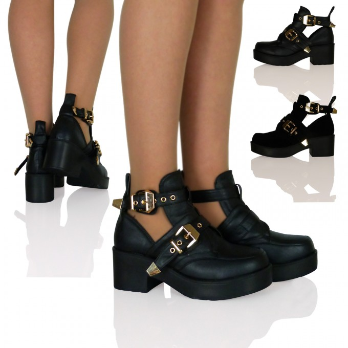 Booties At Target | Heel Ankle Boots | Black Ankle Boots With Buckles