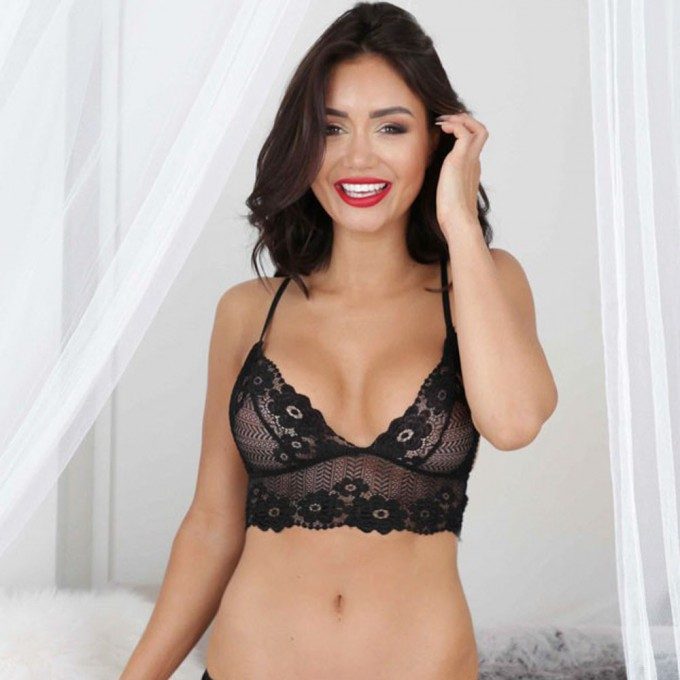 Bra With Straps In Front | See Through Bralette | See Thru Skirts