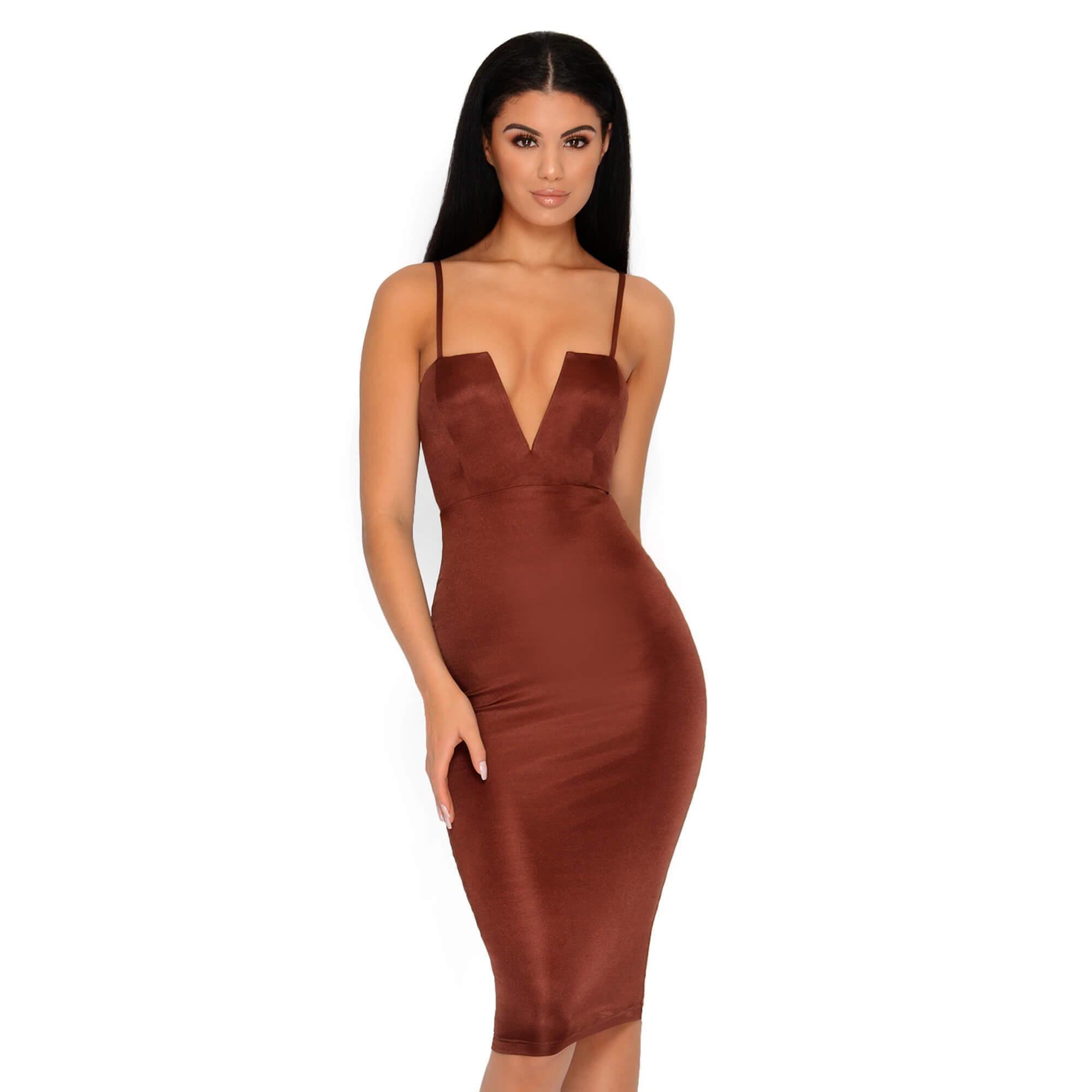 Bras for Plunging Neckline Dresses | Plunging Neckline Dress | V Neck Bandage Dress
