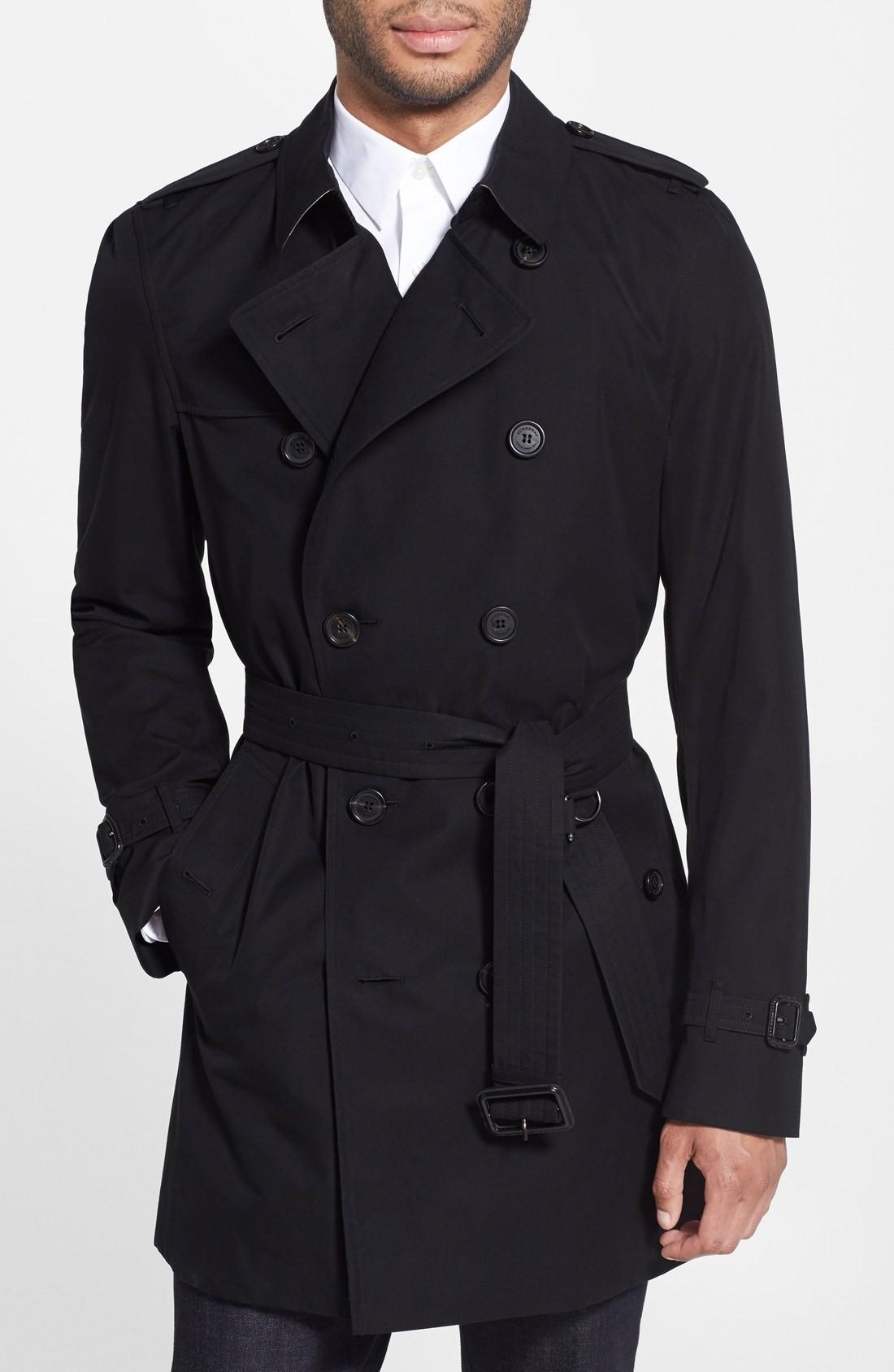 Burberry Overcoat Mens | Mens Shearling Overcoat | Mens Overcoats