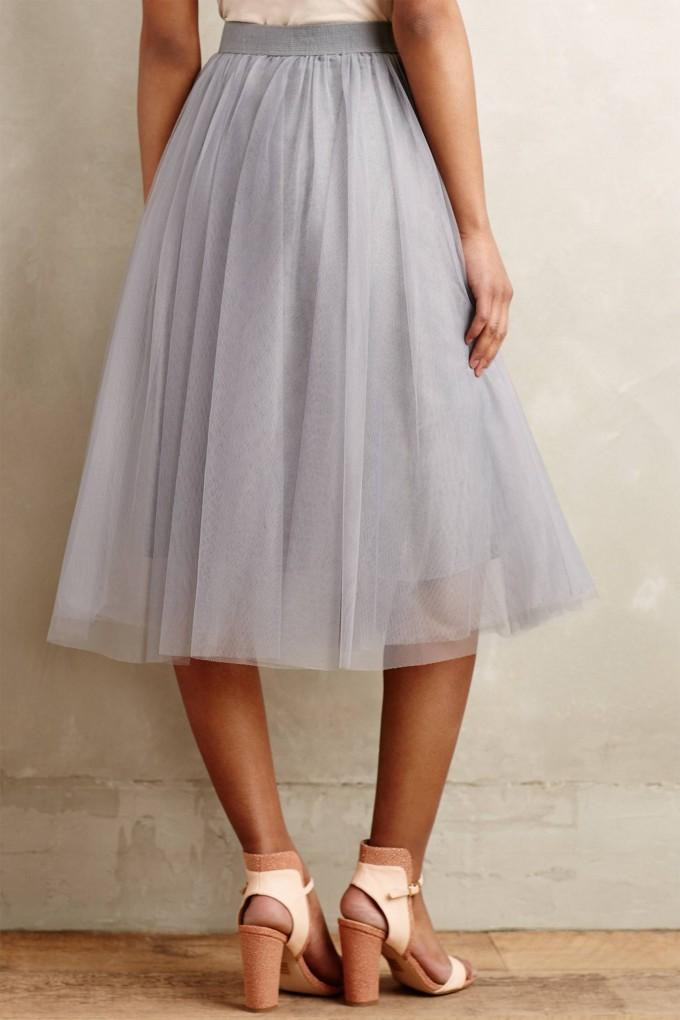 Burgundy Midi Skirt | Tulle Midi Skirt | Tulle Skirts For Adults