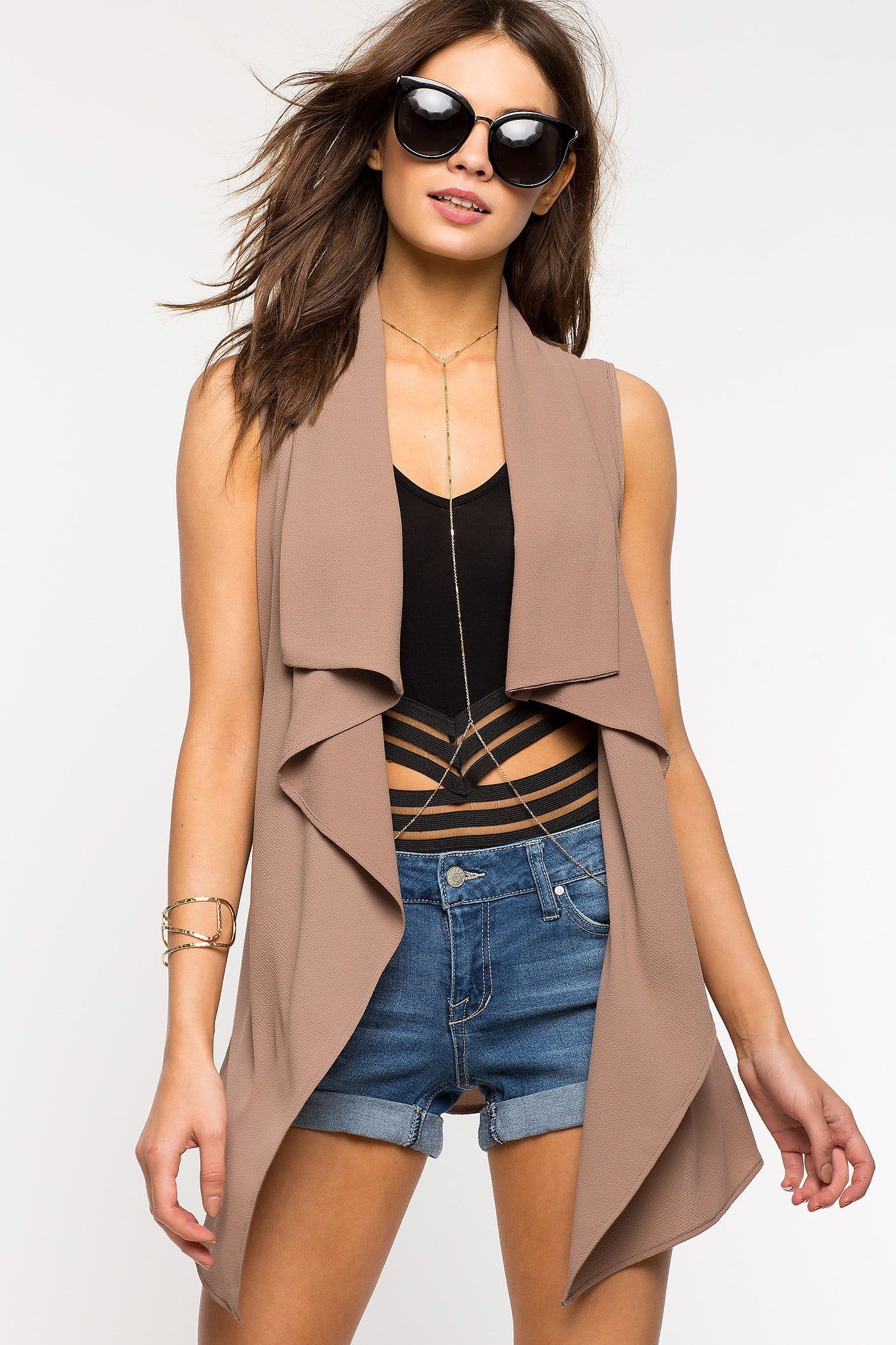 Burgundy Trench Coat Womens   Sleeveless Trench Coat   Beige Double Breasted Trench Coat
