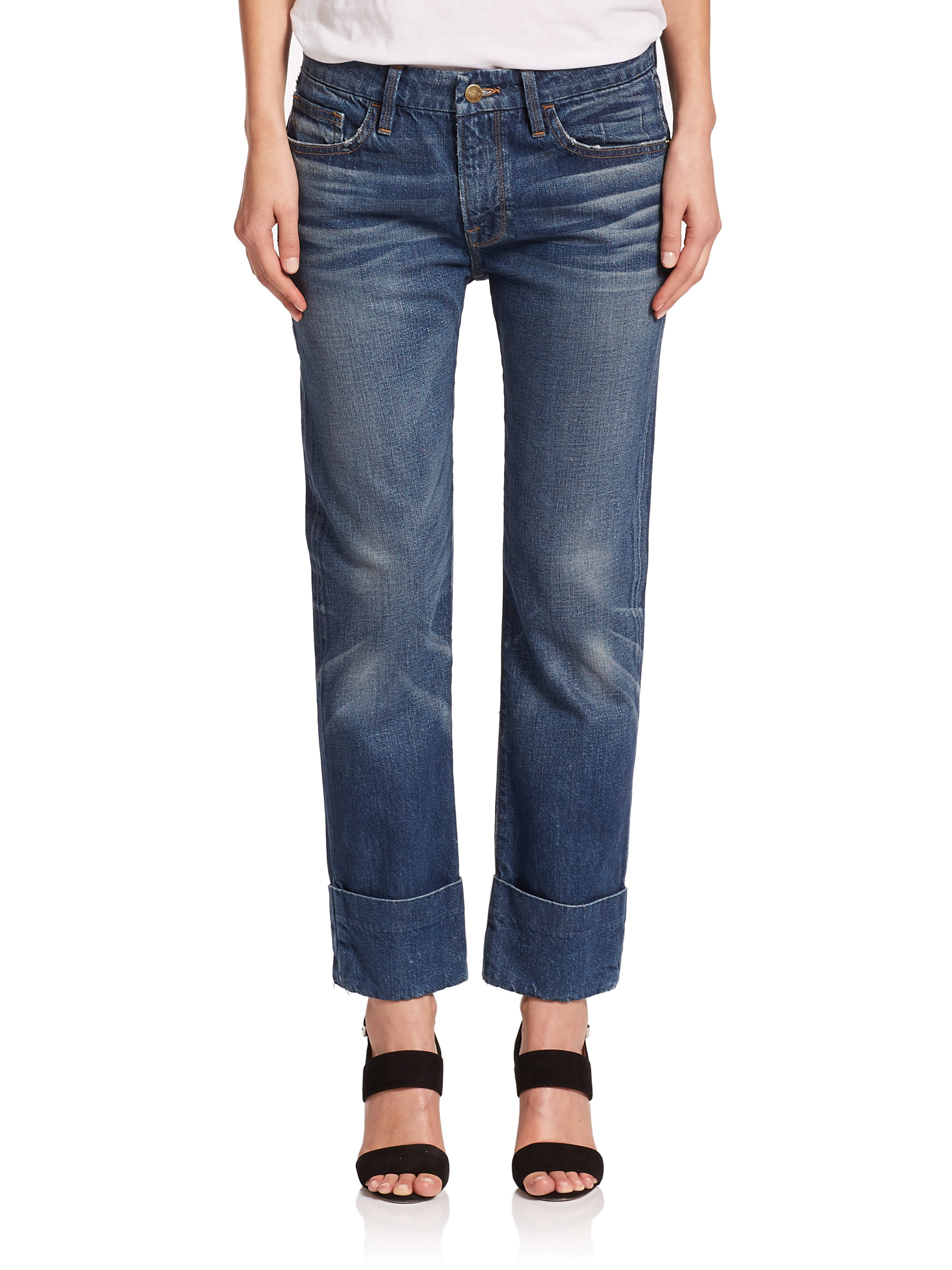 Captivating Frame Denim Le Garcon | Engaging Frame Denim Le Garcon