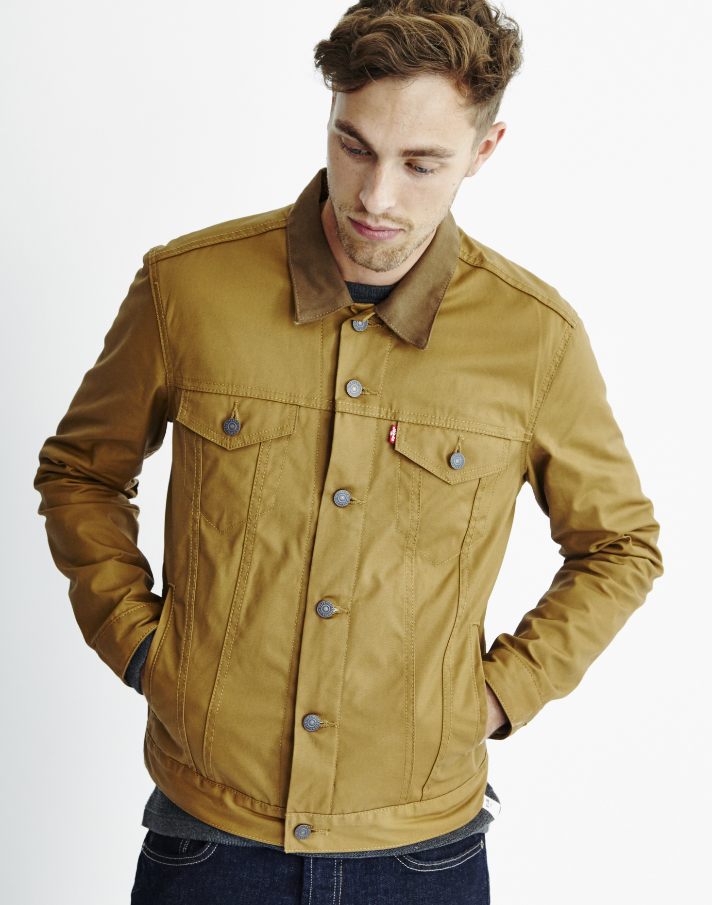 Carhartt Trucker Jacket | Mens Waxed Jackets | Waxed Trucker Jacket
