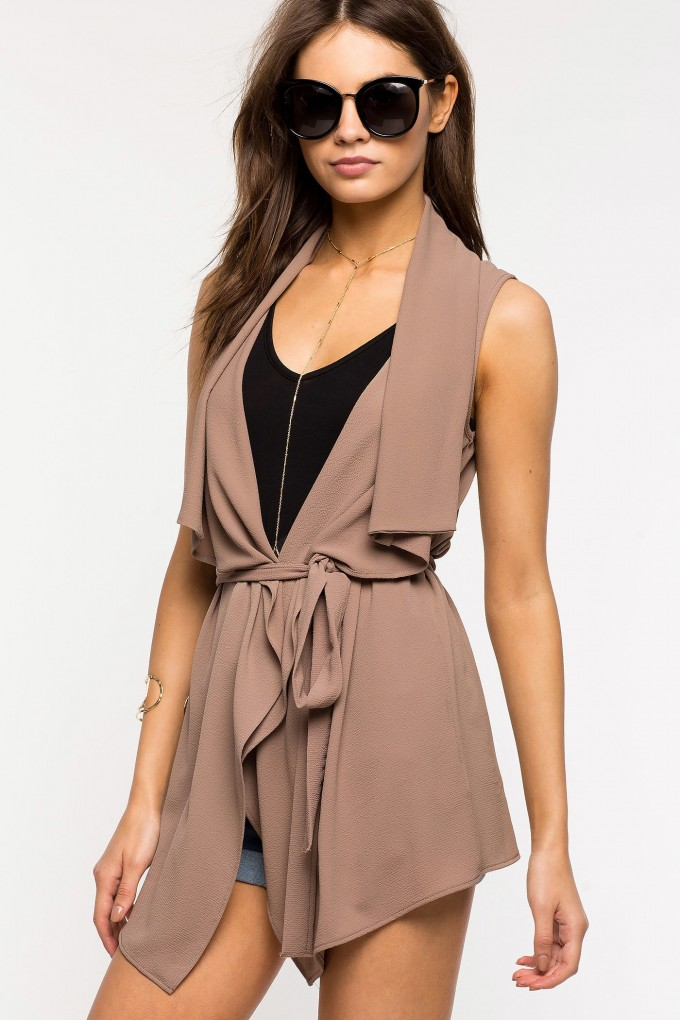 Cheap Trench Coats | Double Breasted Raincoat Womens | Sleeveless Trench Coat
