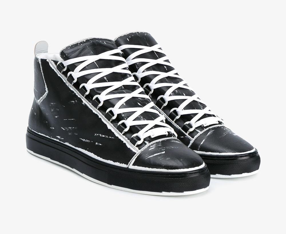 Christian Louboutin Mens Shoes | Balenciaga Arena Sneakers | Balenciaga Arena Suede
