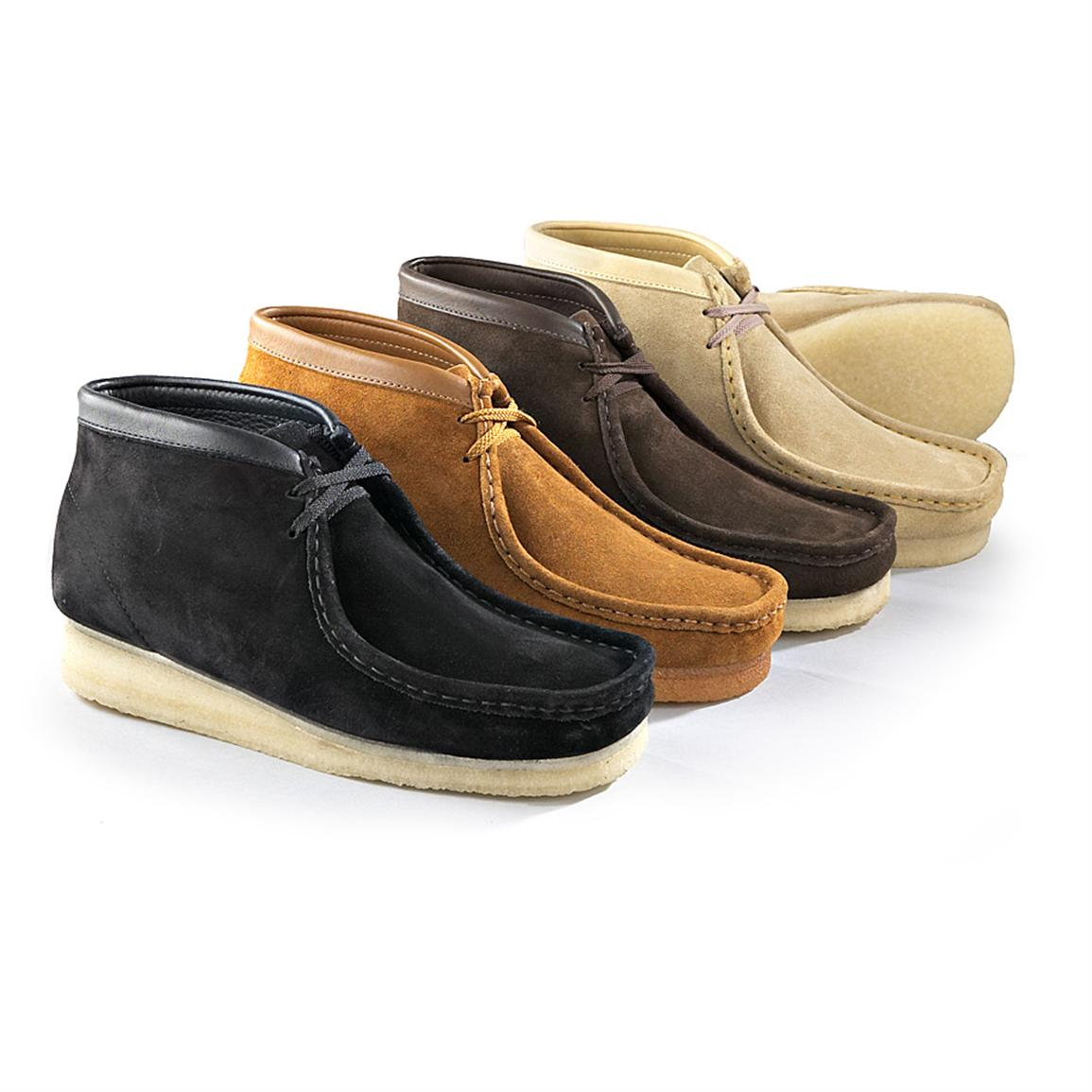 Clarks Work Boots | Clarks Wallabees Men | Clarks Wallabees Mens Sale