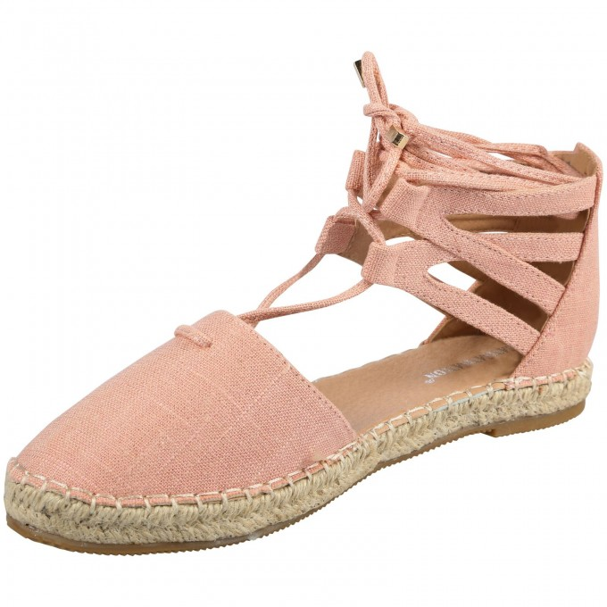 Closed Toe Wedges With Ankle Strap | Espadrilles Tie Up | Wedges Dsw