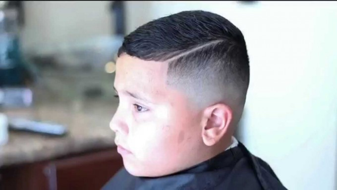 Comb Fade | Pomade Hairstyle | Comb Over Haircut