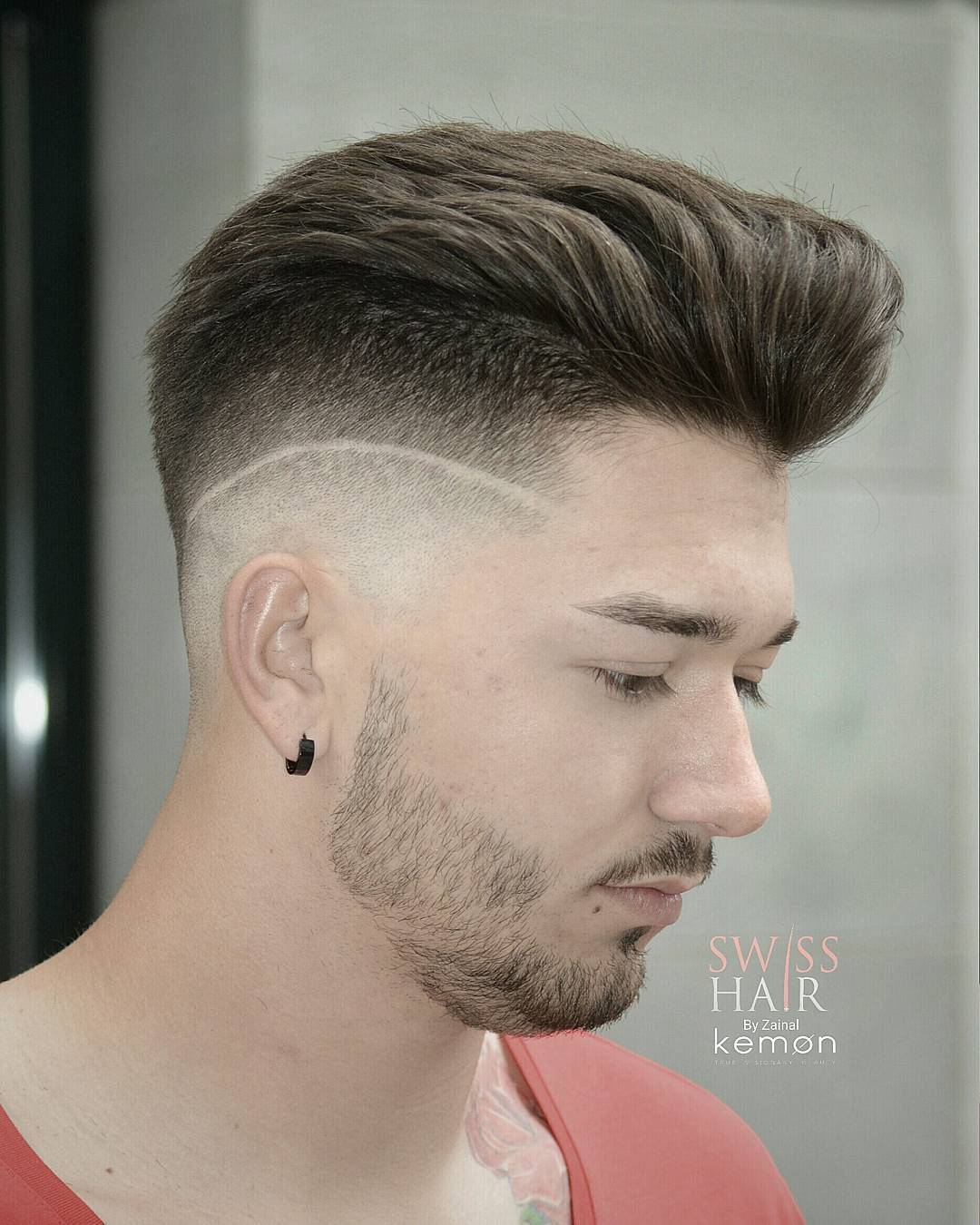 Comb Over Haircut | Comb Over Styles | Side Part Haircut Fade