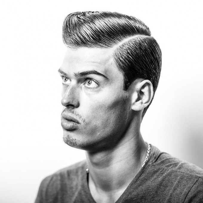 Comb Over Haircut Fade | Short Hairstyles For Men Over 40 | Comb Over Haircut
