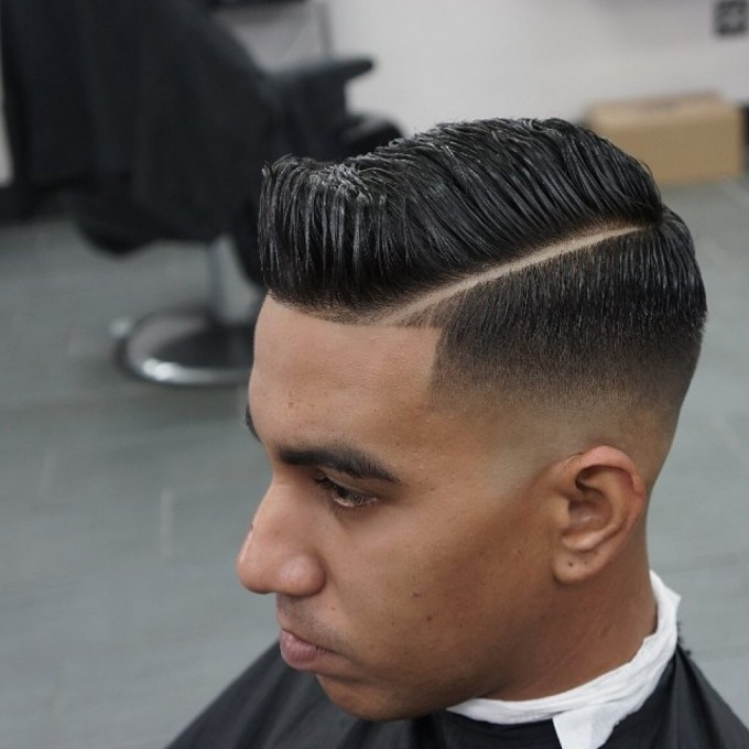 Comb Over Haircut | Hair Combed To The Side | Hairstyles For Men With Gel