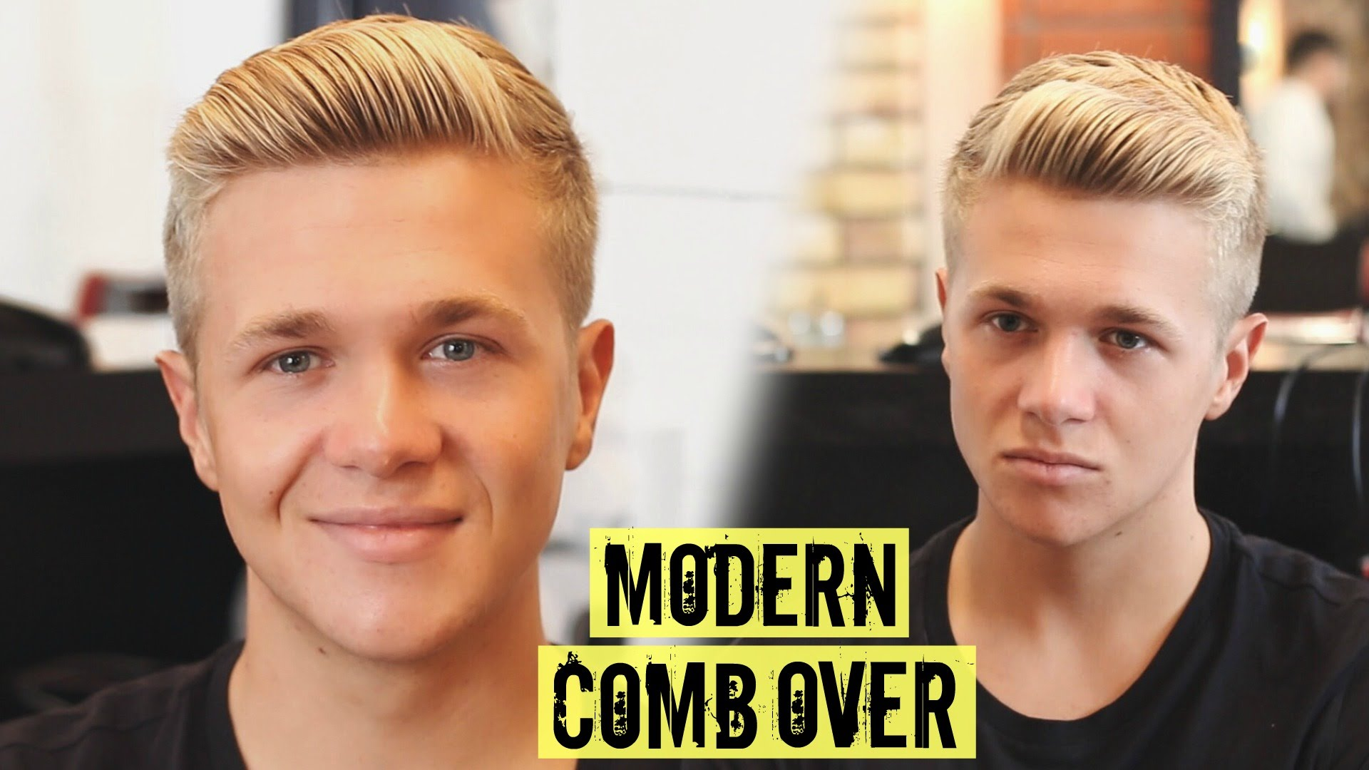 Comb Over Haircut | Hair Parting Comb | Comb Over Fade