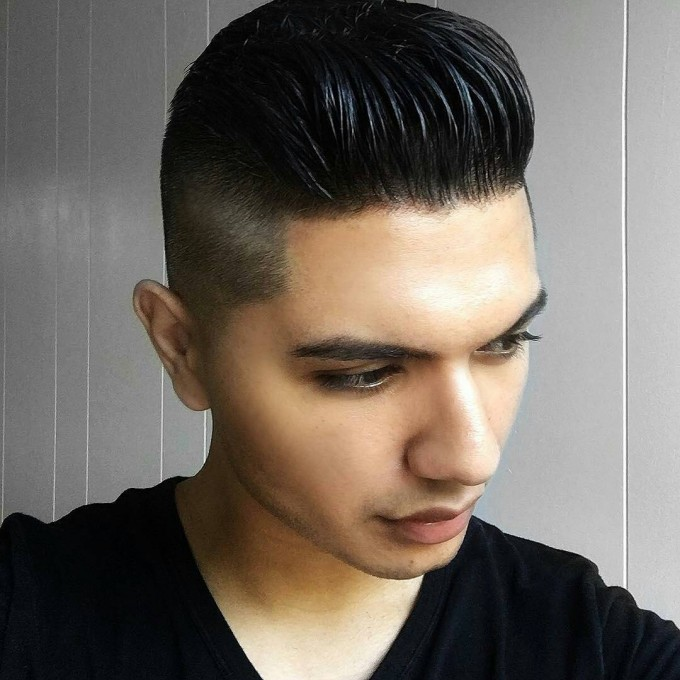 Comb Over Haircut | Hairstyles For Men With Gel | George Clooney Haircut