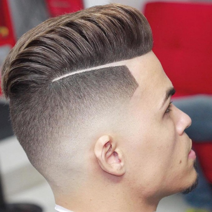 Comb Over Haircut | Parted Hairstyles For Guys | George Clooney Haircut