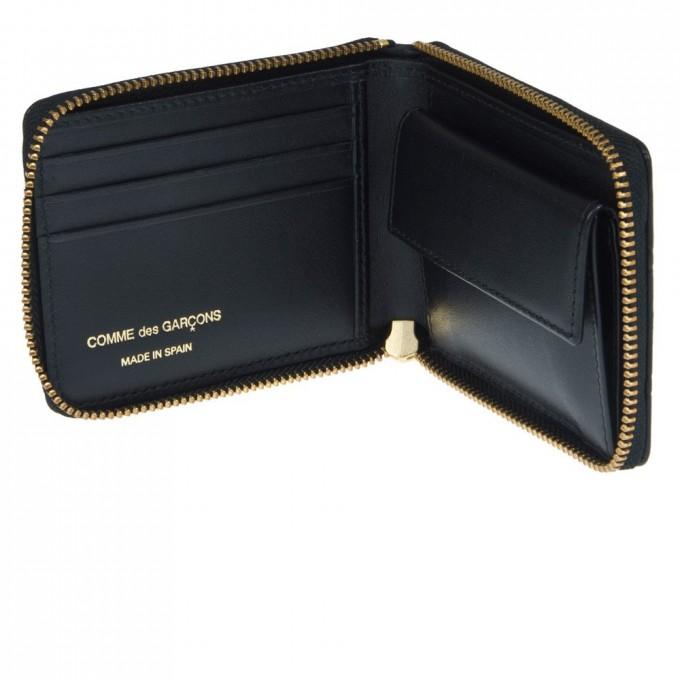 Comme De Garcons Wallet | Neon Purse | Comme Des Garcons Leather Pouch