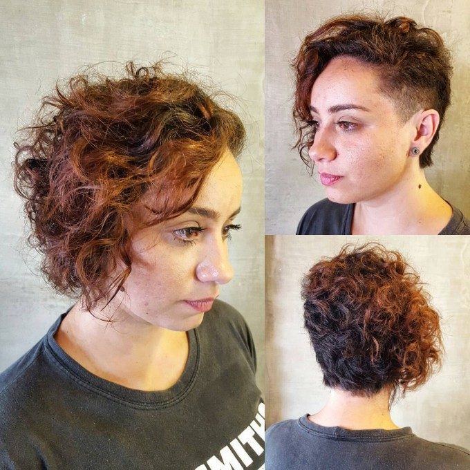 Curling Short Hair With Flat Iron | Short Wavy Hair | Short Curly Haircuts For Women