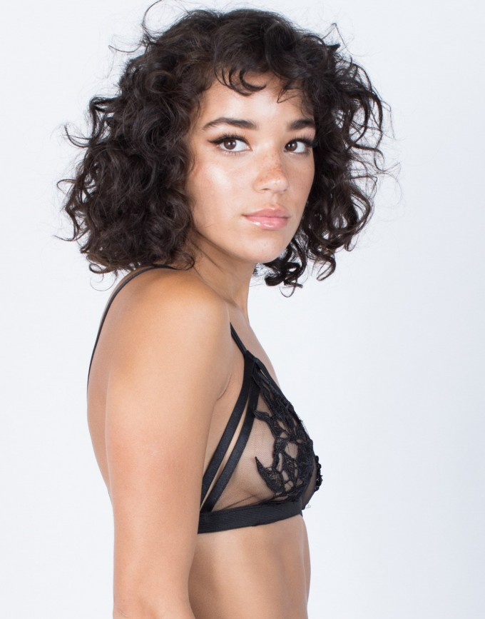 Cut Out Bralette | See Through Bralette | Caged Bra