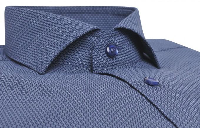 Cutaway Collar | Collar Pin Dress Shirt | Dress Shirt With Buttons On Collar