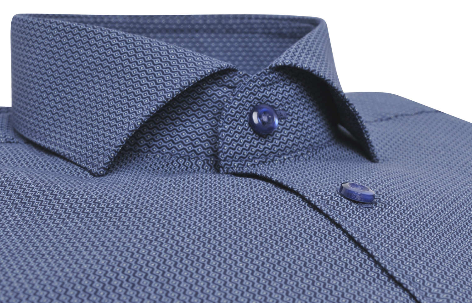 Cutaway Collar | Collar Pin Dress Shirt | Dress Shirt with Buttons on Collar