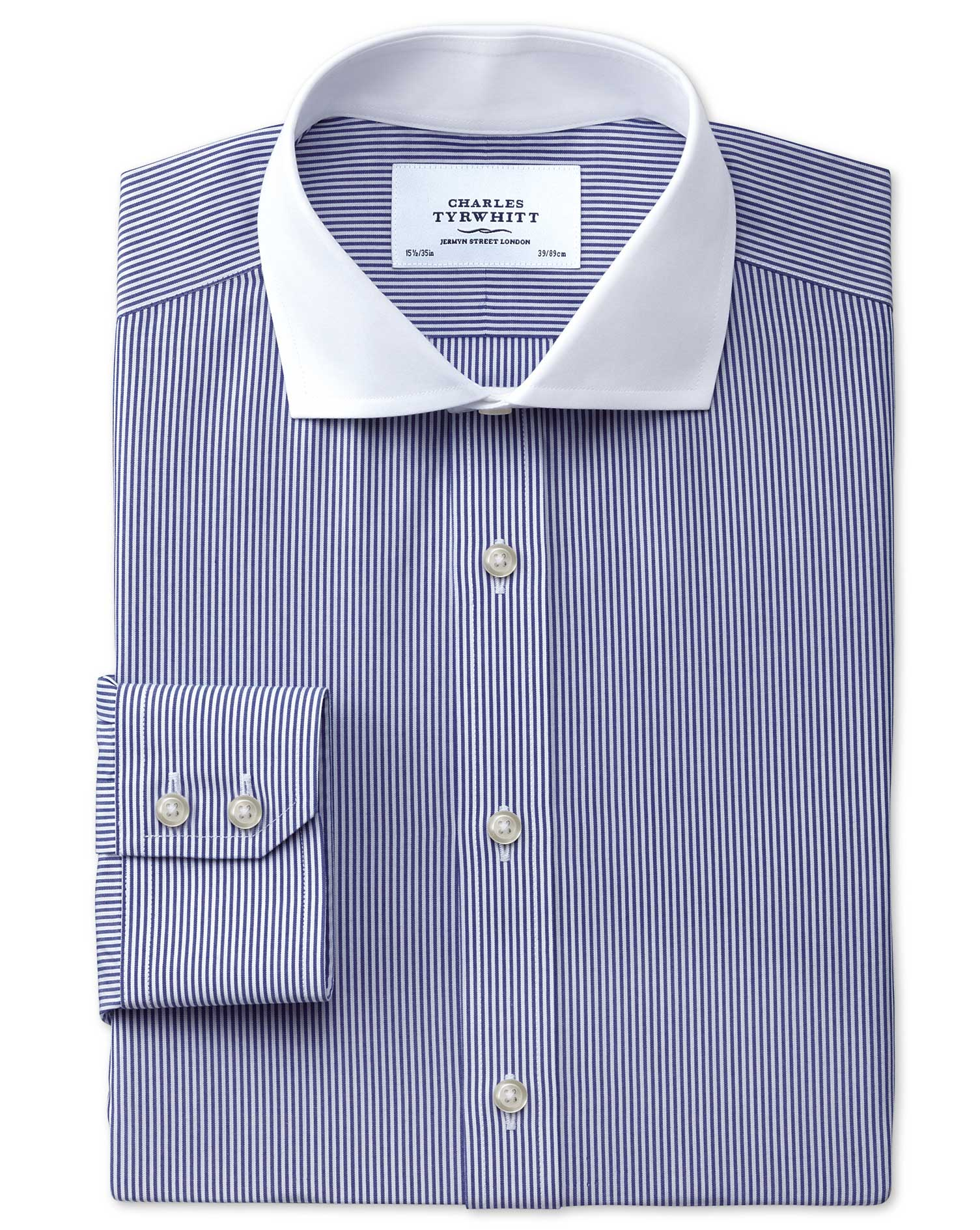 Cutaway Collar | Extra Wide Spread Collar Dress Shirts | Shirts with Buttons on Collar