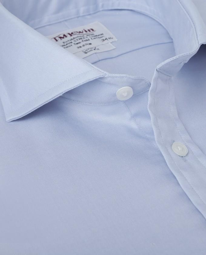 Cutaway Collar | Mens Collars | Slim Fit Cutaway Collar Shirt