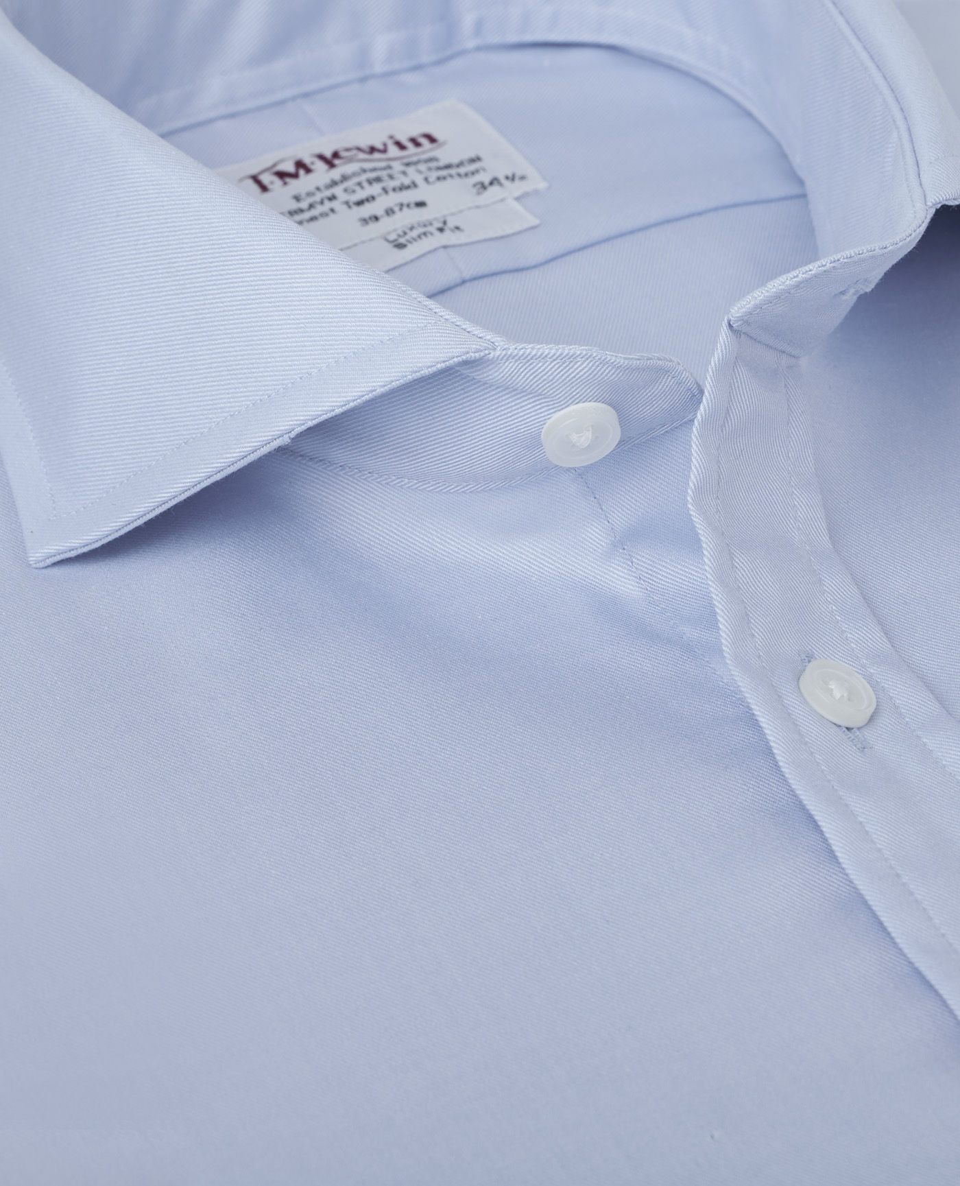 Cutaway Collar | Mens Collars | Slim Fit Cutaway Collar Shirt