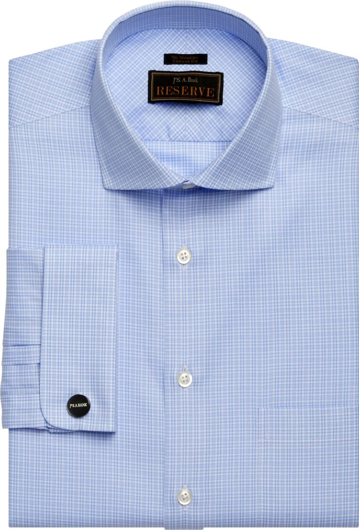 Cutaway Collar | Shirts with Different Colored Collars | Cutaway Spread Collar Dress Shirts