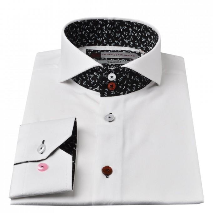 Cutaway Collar | Tuxedo Shirt Collar Types | Banded Collar Dress Shirts For Men