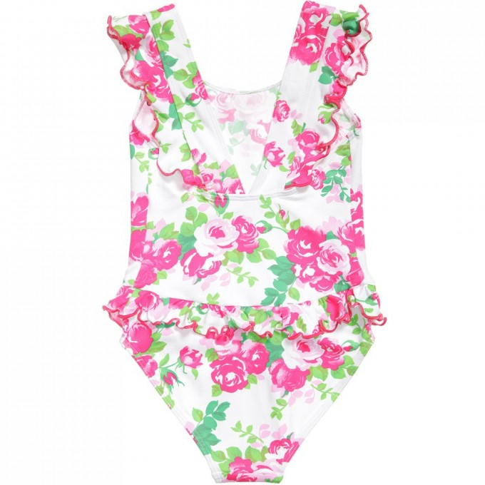 Cute Cheap Bathing Suits | Leaf Swimsuit | Frilly Swimsuit