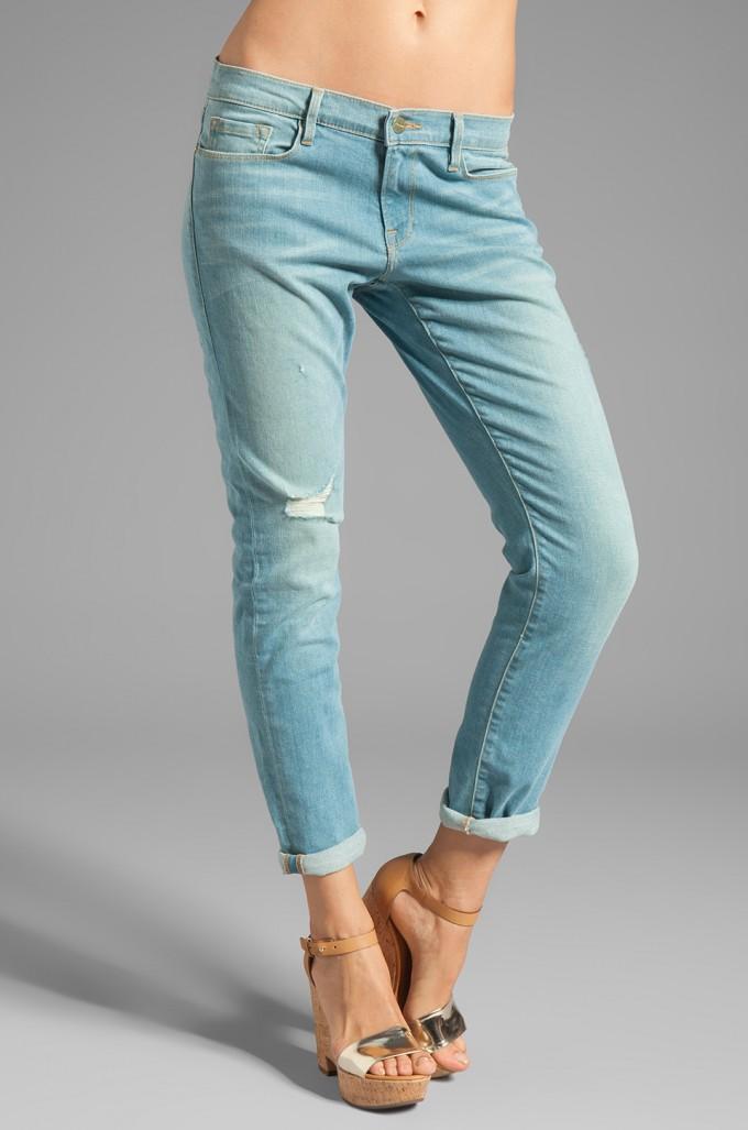 Cute Soft Stretchy Jeans | Terrific Frame Denim Le Garcon