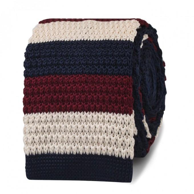 Dark Green Knitted Tie | Silk Knitted Ties | Knit Ties