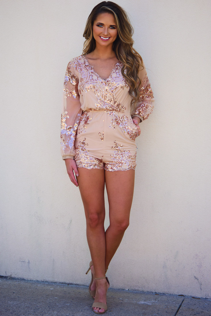 Dressy Rompers | Sparkly Jumpsuit | Short Rompers