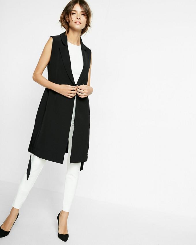 Duster Womens | Sleeveless Trench Coat | Trench Coat Vest