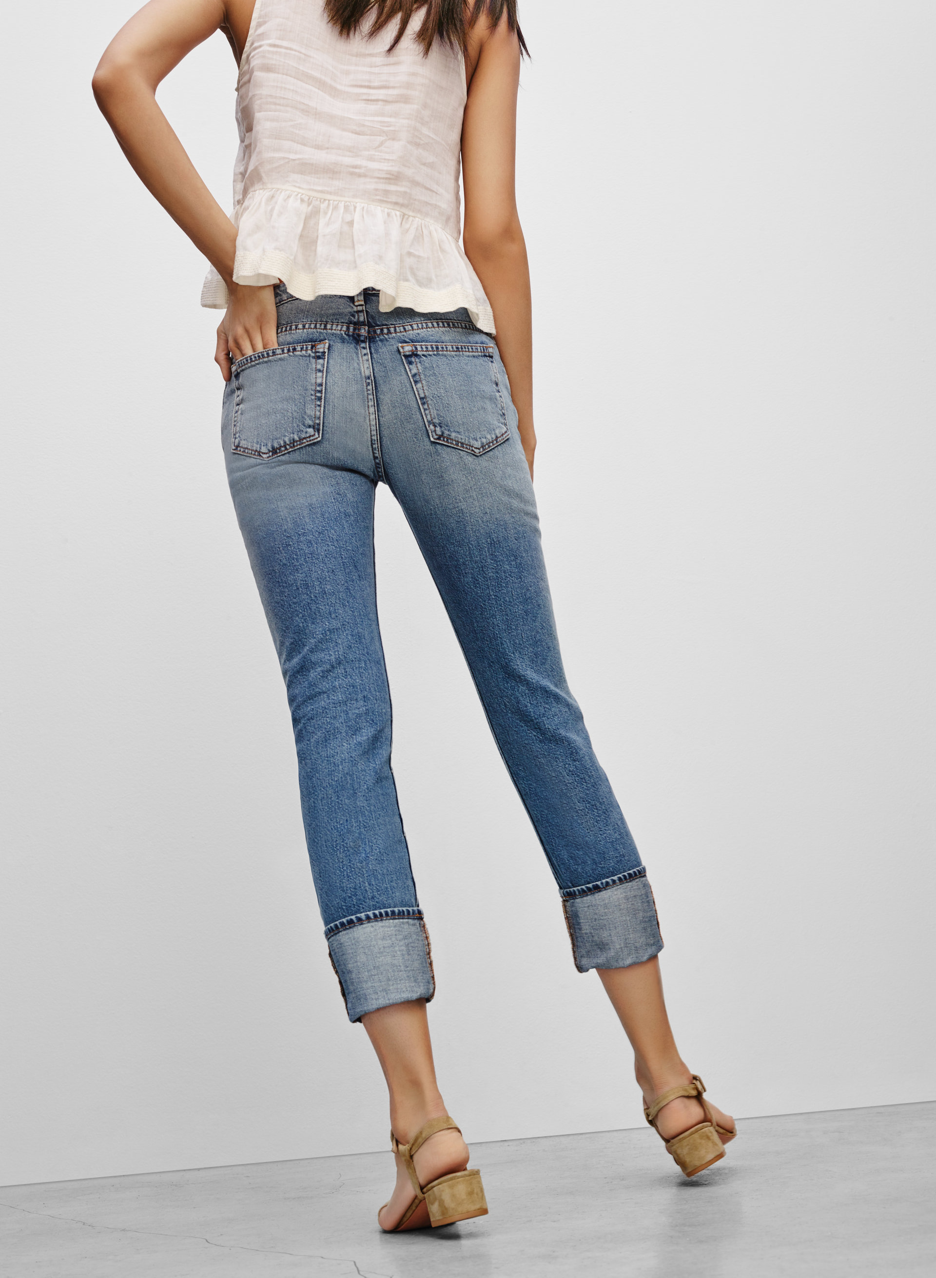 Enjoyable Frame Le Garcon Jeans | Enchanting Frame Denim Le Garcon