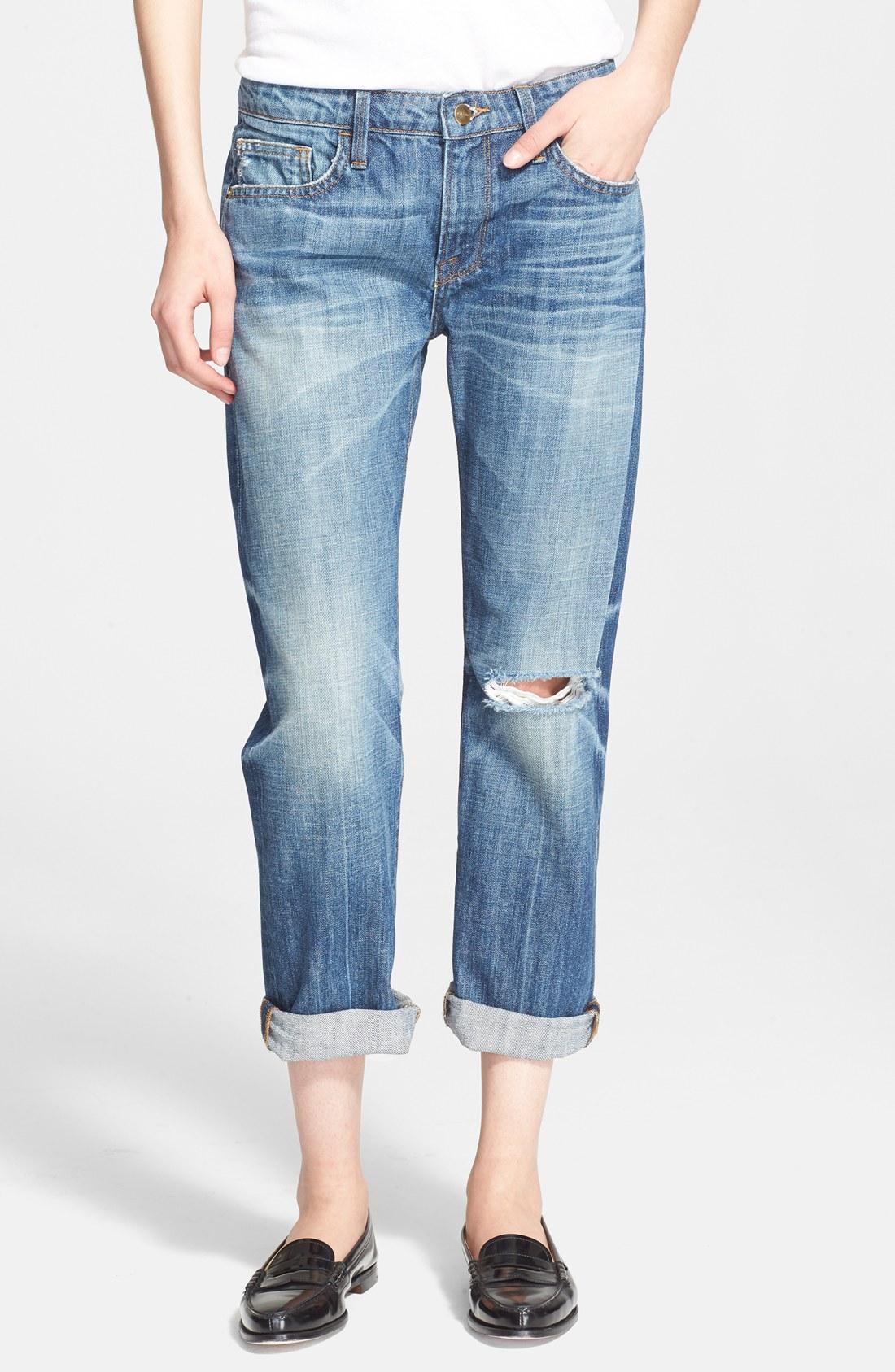 Excellent Frame Denim Le Garcon | Snazzy Mid Rise Boyfriend Jeans