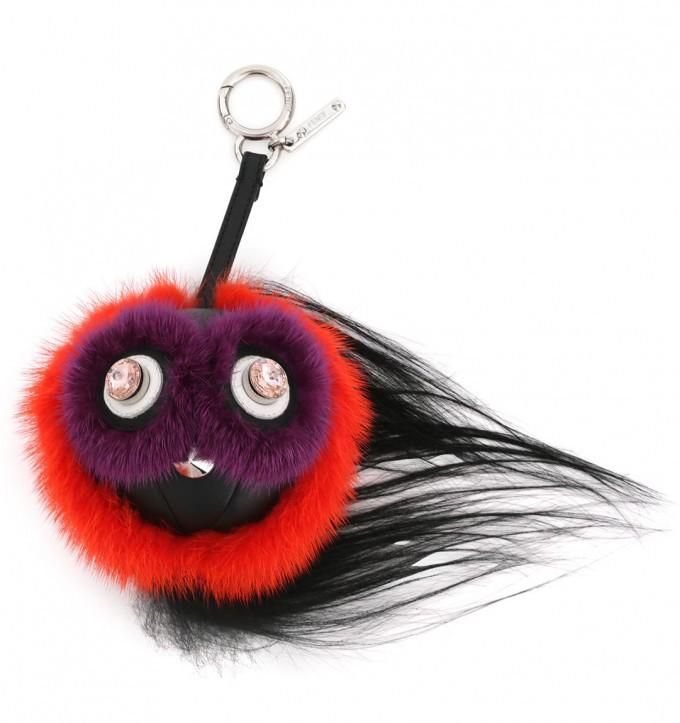 Expensive Key Chains | Fendi Charm Bracelet | Fendi Fur Monster