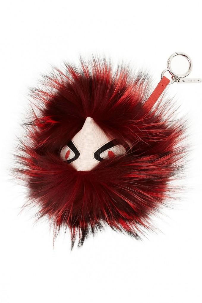 Expensive Keychains | Fur Keychain | Fendi Fur Monster